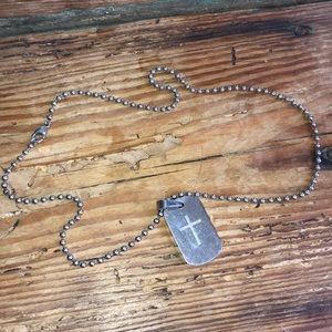Stainless Steal Chain with Dog tag